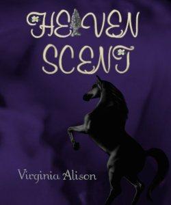 Heaven Scent book cover blue