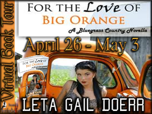 For the Love of Big Orange Button 300 x 225
