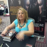 Michelle A. Valentine author of the Black Falcon Series